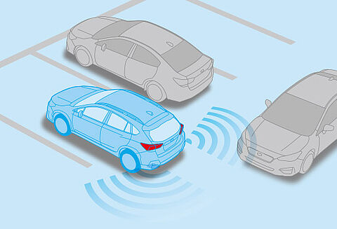 Advanced Safety Package: Subaru Rear Vehicle Detection (SRVD)