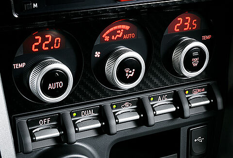 Dual-zone Automatic Air-conditioning