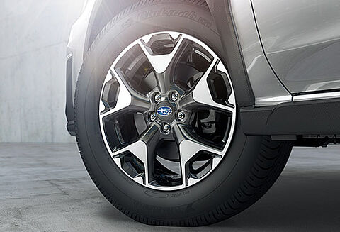 17-inch Aluminium-alloy Wheels