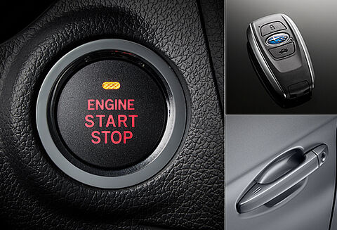 Keyless Access con pulsante start/stop