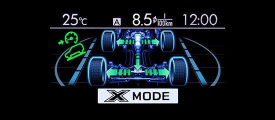 X-MODE and Hill Descent Control