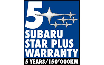 Warranty 5 Years - 150'000 km